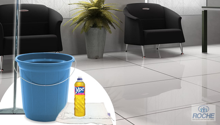 Como fazer a limpeza de porcelanatos?