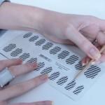 Como fazer adesivos de unhas