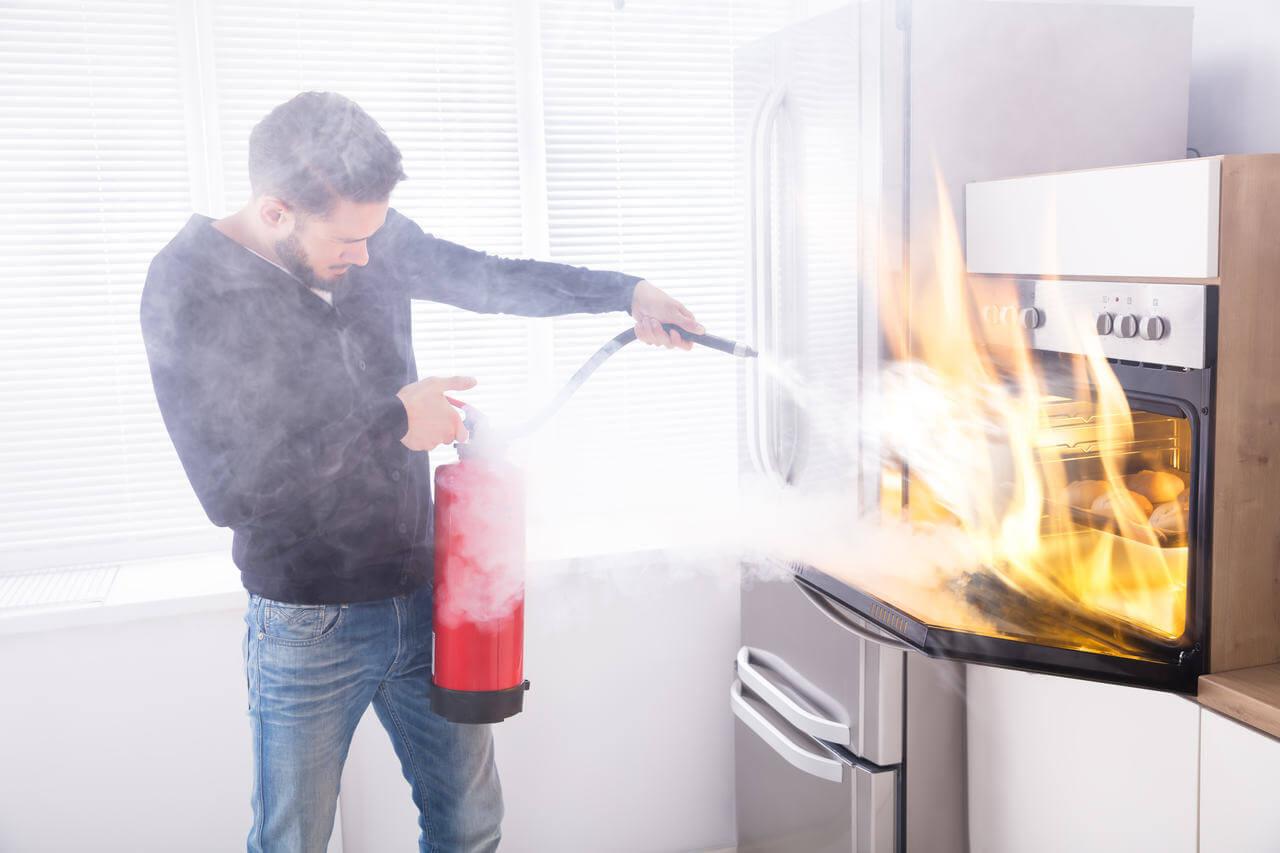 tipos de extintores: quais são as classes de incêndio?