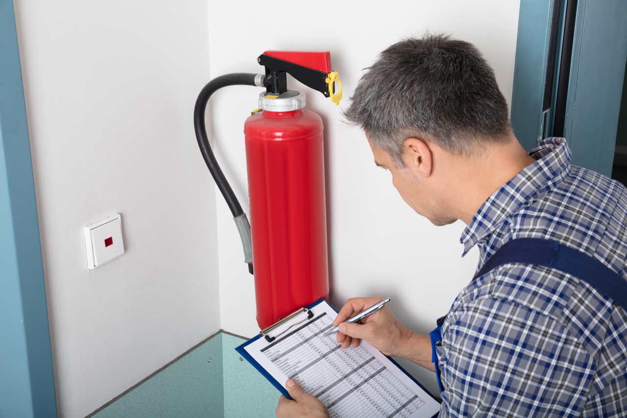 tipos de extintores de incêncio para condomínios